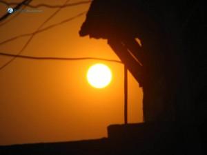 114. yellowish sun
