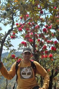 19. Binaya Aryal poses for the click