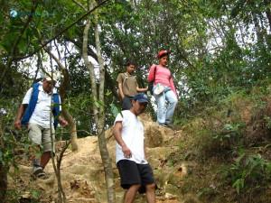 86. Rashmi Pandey has been a great hiker always