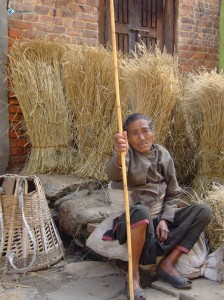 24. Grandma at Khokana 2