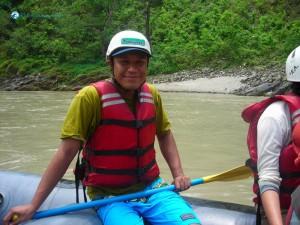 29. this is my first rafting___