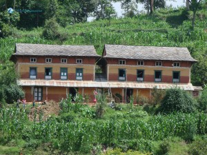 6. Beautiful Twin Tower of nepal exactly rural dream village house