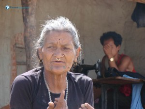 95. typical nepali grandmother