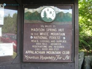 2. Appalachian Mountain Club Madison Spring Hut