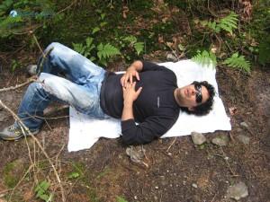 27. Ishwar khatiwada Sleeping or pretending