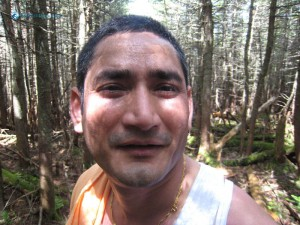 65. You know its me Tika Mahata in deep forest of Mt Adams