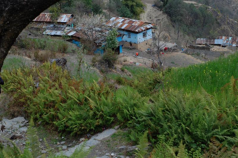 57 Glance of village