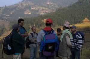 A nepalese village brother shares his problem due to nepals politics leaderships and waste dumping site