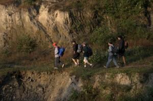 Deerwalk Inc Trekking team pushes ahead full of spirit vigor