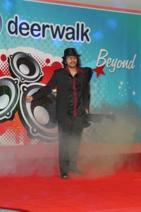 its time to rock the stage