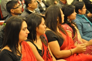 ladies in red..