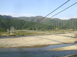 Shera-Malakot Suspension Bridge