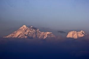 A morning view of Gauri Shankar