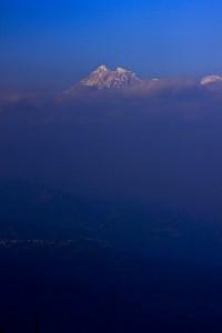Each fresh peak ascended teaches something