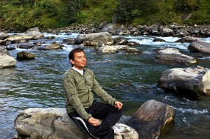 a perfect spot for meditation