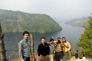 Kulekhani Lake view