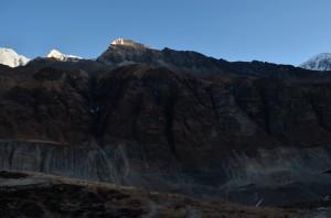Esker formed after Glacier depletion