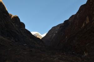 Annapurna behind the himalaya
