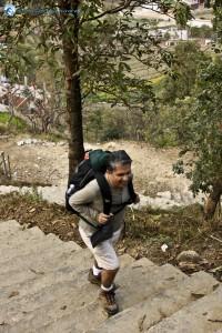 16. Make sure to carry light bag while hiking