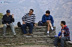 21. Chautari, a place to rest and crack a few jokes to refill ourselves