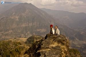 64. it was a steep hill climbdown from Ghaley Gaon to Khudi