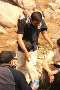 17. Manish and Basant sharing their muddy story..