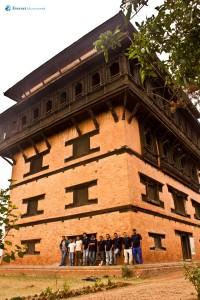 46. At Nuwakot Sat talley Durbar