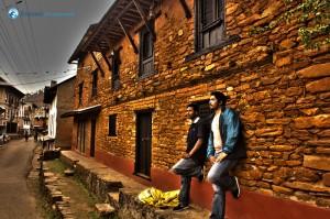 51. At Nuwakot, Nimesh and Ujjwal..