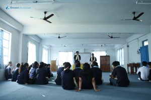 17 Interaction with GBS students