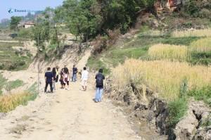 3. Muddy way