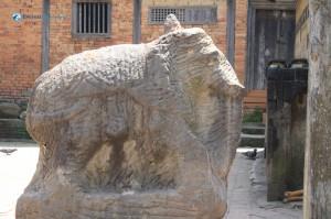 33. Stone that symbolizes an elephant