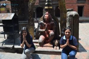 37. Namaste a Nepali way of greeting other