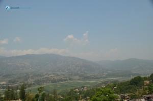 40. Beautiful landscape seen from the Changunarayan temple