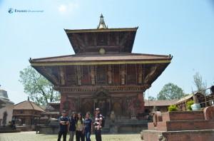 42. Snapshot to commemorate Changunarayan temple