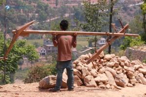 "17. As a famouse Nepali song goes ""Hariyo danda mathi halo jotne sathi"""