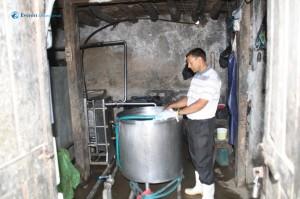 54. Milk collection center