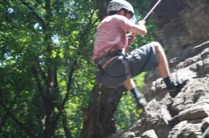 25. Climbing to School