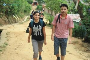 3. Little bit of walk