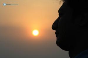 31. Sunrise and Ashish Dai