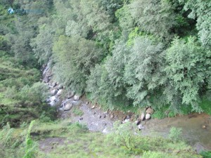 13. Down flows the river Roshi