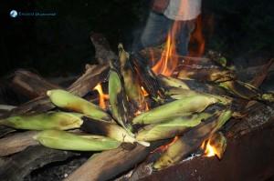 22. Wow roasted green corn