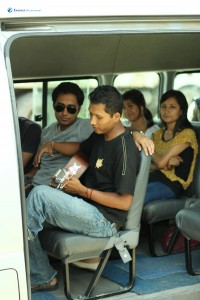 1. Melodious journey on bus