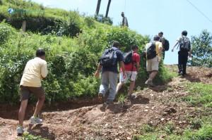 14. Uphill climb starts