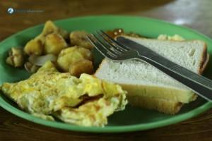 43. Breakfast served