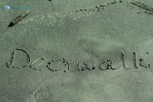 45. Carved in the sand