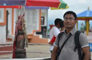 34. Sunil posing