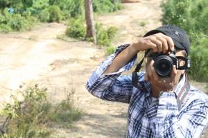 18. Photographer on making