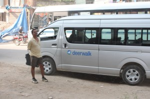 3. Guarding the DW Van