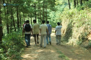39. Marching down from Chhaimale