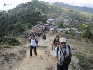 57. Village we left back